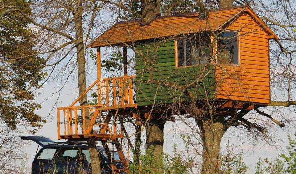 Namas medyje